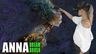 Bird Gamayun - Virtual reality painting (Tilt Brush)