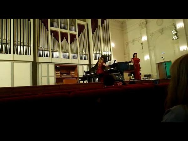 Мацюшевич фантазия на тему вальса Венская кровь Исп Евгения Каплун партия фортепиано Юлия Коровина