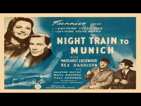 Gestapo Night Train to Munich 1940 de Carol Reed filme completo em HD e legendado em português