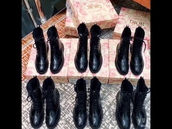 Сапоги Dior Новинка 2019s Цена 4 900 рублей Только качество Люкс 1 1Товар ПОД ЗАКАЗ
