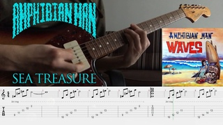 [Screen Tabs] Amphibian Man - Sea Treasure    Waves (2016)    Instrumental Surf Rock