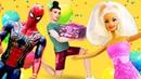У Барби день рождения! Супергерои Марвел ищут подарок! Платье от Кена пойдет Тайная жизнь игрушек