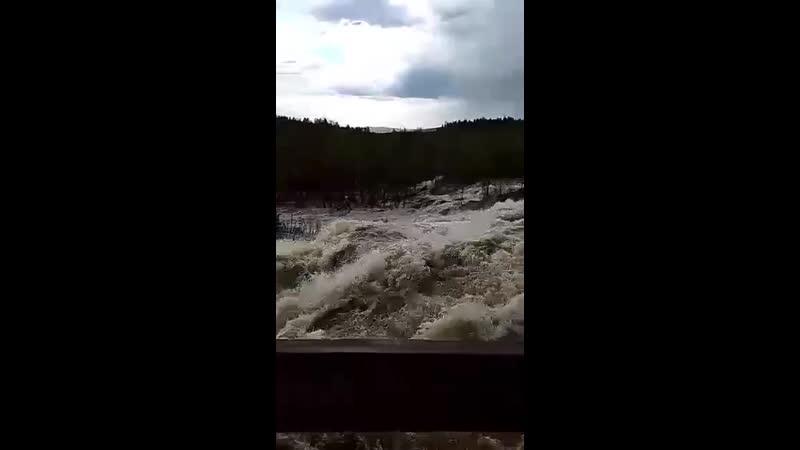 Водопад Шуонийоки MP4