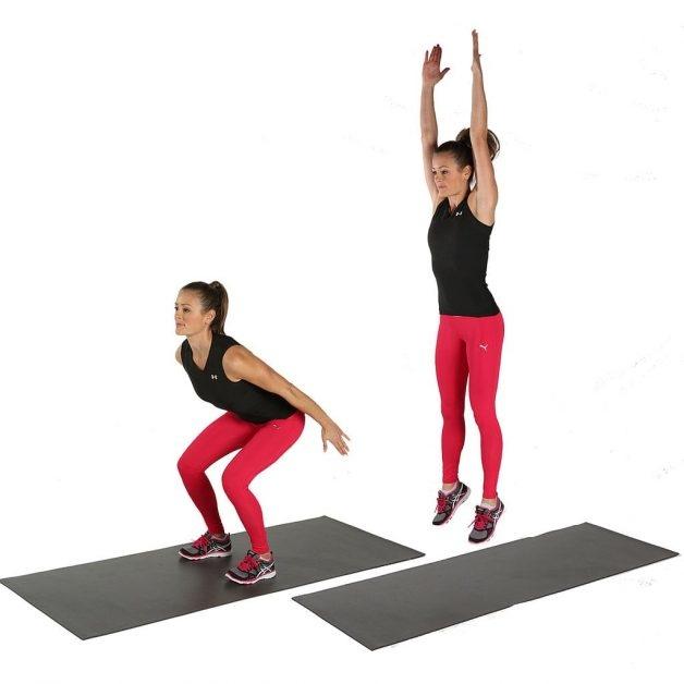 Простые и легкие упражнения для похудения