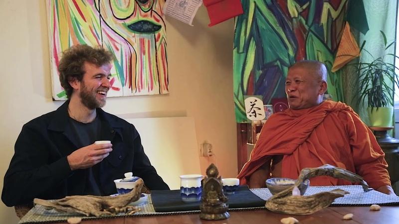 ШЕН Медитация в жизни с тайским монахом Аджаном Вимокхой Meditation in life with monk Ajahn Vimokha