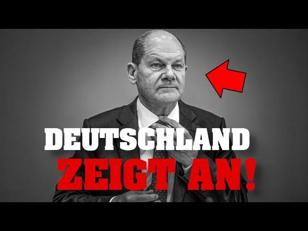 STRAFANZEIGE gegen OLAF SCHOLZ