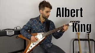 Easy Blues Songs To Play On Electric Guitar | Albert King - Born Under A Bad Sign
