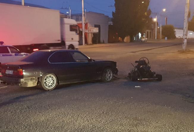 Водитель самодельного карта погиб в КЧР