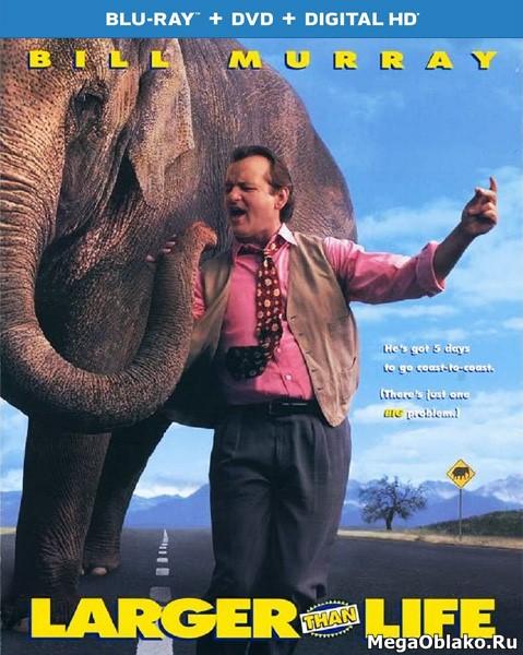 Больше, чем жизнь / Larger Than Life (1996/BDRip/HDRip)