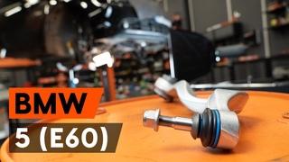 Как заменить передний рычаг подвески BMW E60 [ВИДЕОУРОК AUTODOC]