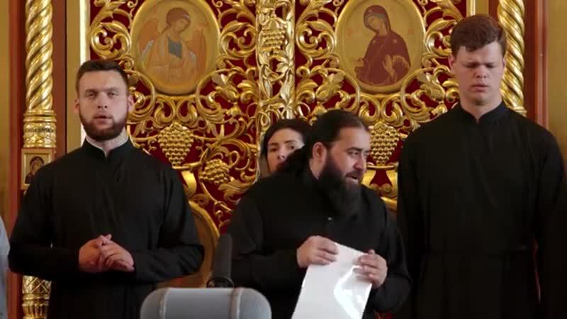 Кристе Ахсдга груз Христос Воскресе Серафим Бит Хариби и хор монастыря Тринадцати Ассирийских Отцов