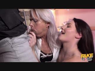 [FakeHostel] Elena Vega, Kathy Anderson -Heat Of The Night New Porn 2019