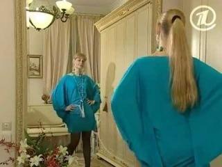 Ольга Никишичева. Платье-бабочка из трикотина