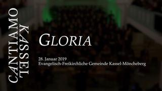 Gloria: Konzert am 28. Januar 2020 | Cantiamo Kassel