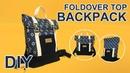DIY Foldover top Backpack   나만의 롤탑 백팩 만드는 방법   How to sew backpack   リュックサックの作り方 sewingtimes