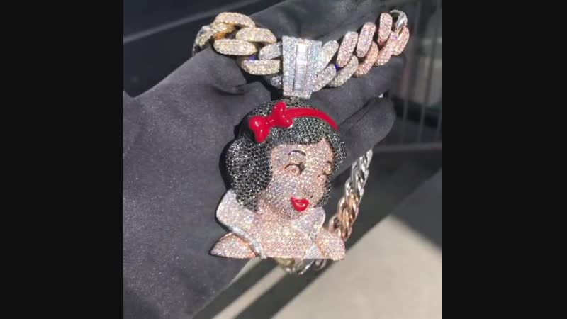 Keyshia Ka'oir's Snow White Chain