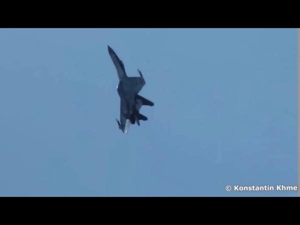 Су 35 Видео запрещенное в США Высший пилотаж