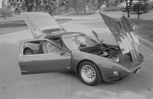 На конкурсе элегантности покажут прототип среднемоторного Corvette с роторным двигателем