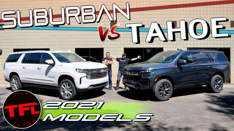 Brand New 2021 Chevy Suburban vs Chevy Tahoe Compared Here's The One I Would Buy Why I'd Buy it