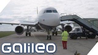 Flugzeugteile vom Schrottplatz: Wie sicher sind sie | Galileo | ProSieben