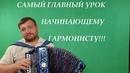 САМЫЙ ГЛАВНЫЙ УРОК НАЧИНАЮЩЕГО ГАРМОНИСТА!