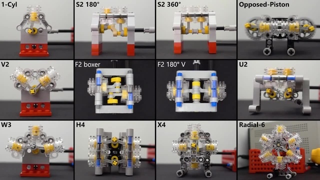 Lego Engines · coub коуб