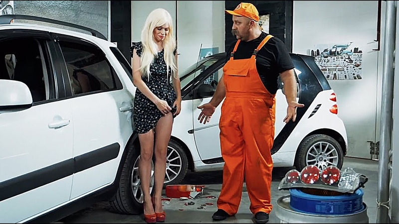 Тупая Блондинка за рулем попала в ДТП расплата на СТО Подборка аварии драки 2019 На Троих