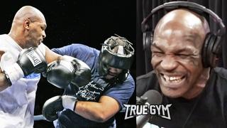Как проходят спарринги Майка Тайсона перед боем против Роя Джонса / Подкаст у Джо Рогана