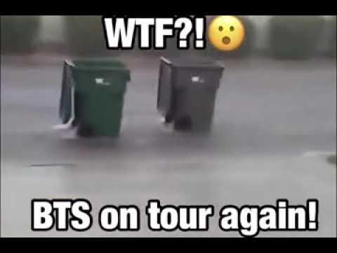 WTF?! BTS on tour again!