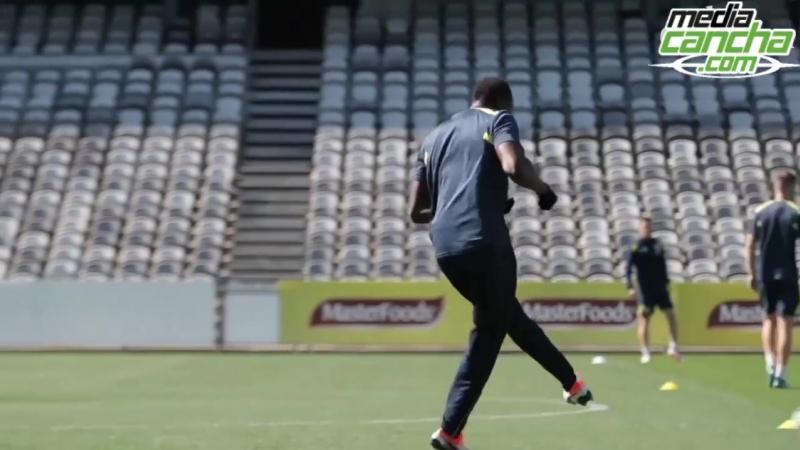 Usain Bolt sorprendido por control antidopaje