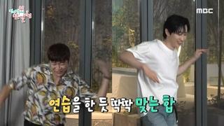 "200912 Super Junior's D&E on ""Point of Omniscient Interfere"" - Min Hyuk cut 2"