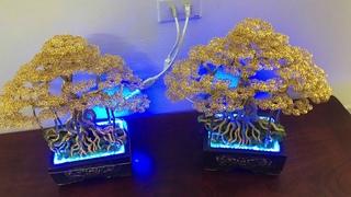 Bonsai handmade từ dây đồng | cây bonsai handmade dây đồng đẹp | bonsai handmade ha noi.