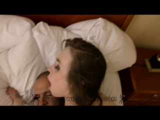 Angel rush and sofi goldfinger - hard in bed with 4 men