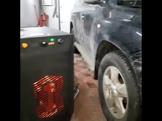 очистка раскоксовка водородом в Нижнем Новгороде  Toyota Land Cruiser 200 Водородинг