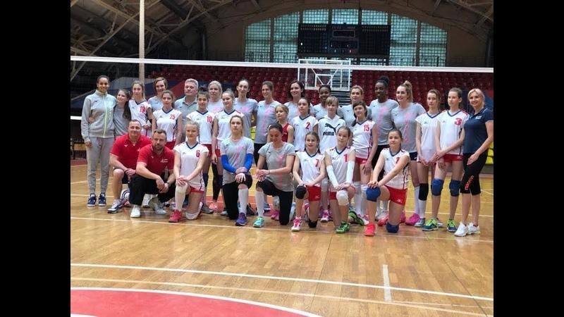 Море позитива открытая тренировка женской волейбольной команды Тулица 29 апреля 2019 года