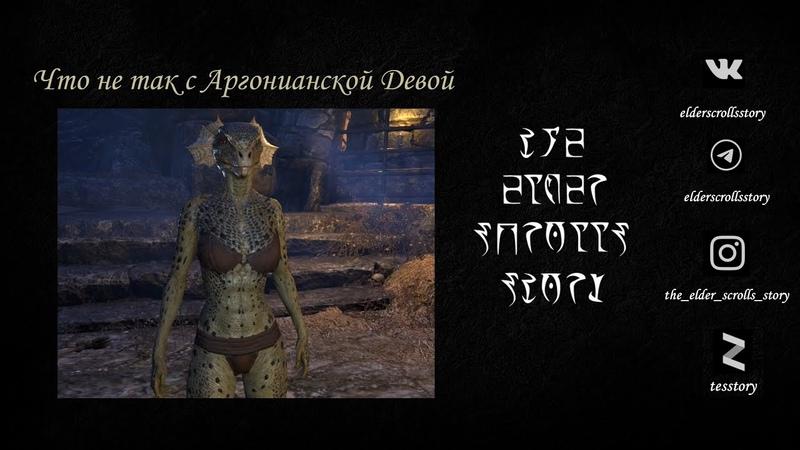 Предания The Elder Scrolls Что не так с Аргонианской Девой