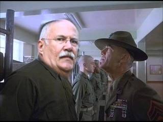 GySgt. Hartman Calls a Drunk Phony Gunnery Sergeant