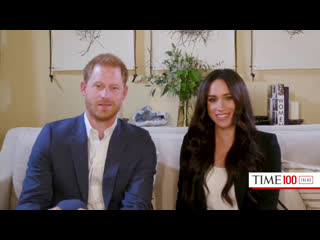 The Duke and Duchess of Sussex Host Engineering A Better World   TIME100 Talks