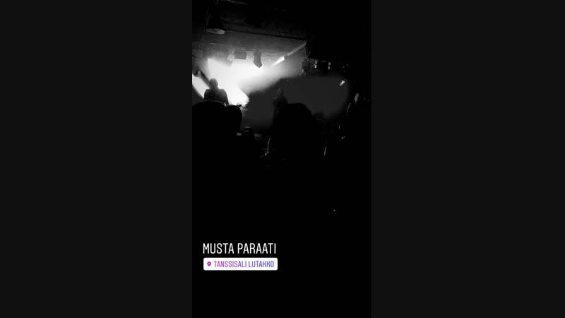 2 Musta Paraati Finland Jyväskylä Club Lutakko 13 12 2018@soulrokker Sauli Okker
