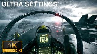 Battlefield 3 on Ultra Settings | Jet Mission | 4K 60 FPS
