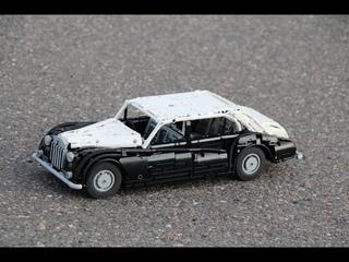 Rolls Royce Phantom V Limousine Body By James Young 1960 Lego model