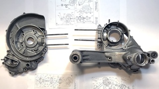 Restauro completo motore Vespa VBB/GT/GL/Sprint/Super/180 Rally Largeframe [How to rebuild]