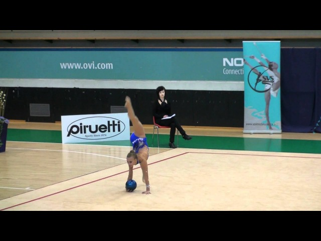 Elizaveta Nikulina SVS Open 2012 ball RUS