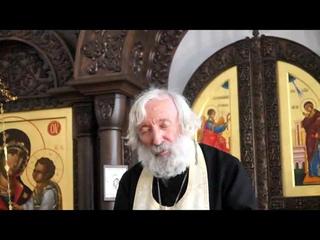 Протоиерей Евгений Соколов. Главная задача человека - стяжание Благодати Божией