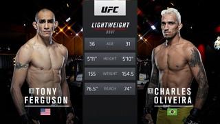 UFC 256 Free Fight: Charles Oliveira vs Tony Ferguson