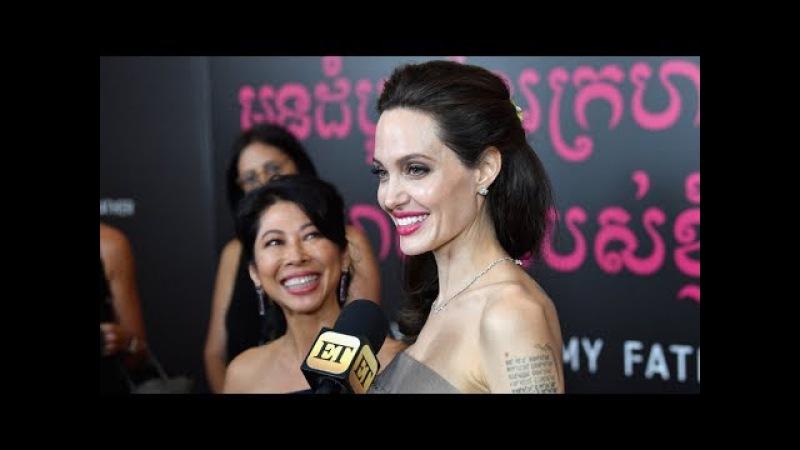 Анджелина Джоли представила свой новый фильм о геноциде в Камбодже (новости)