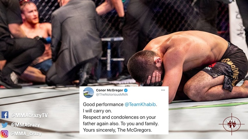 MMA Pros React to Khabib Nurmagomedov submit Justin Gaethje at UFC 254