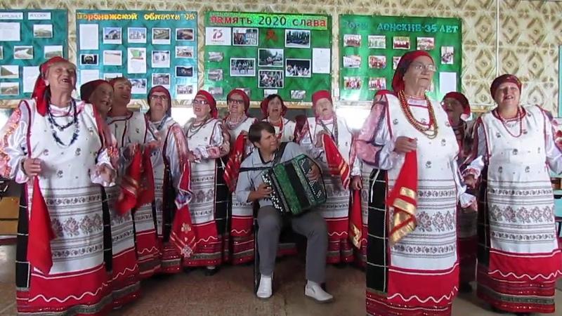 Народный хор ветеранов Сады садочки