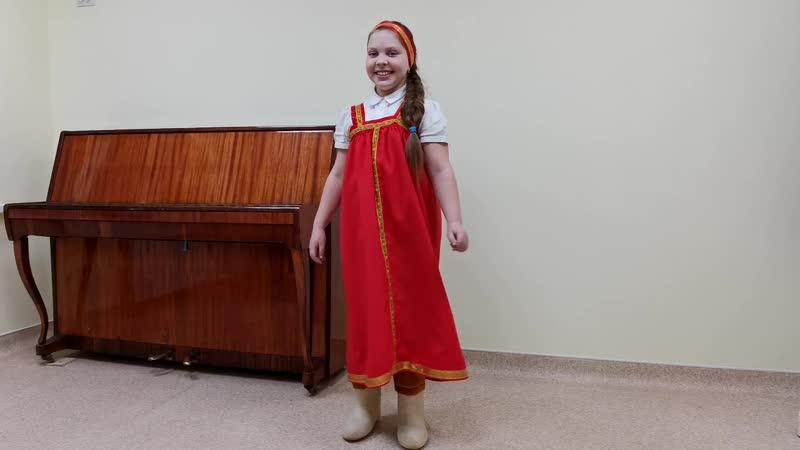 Куряшова Софья Валенки из репертуара группы Волшебники двора