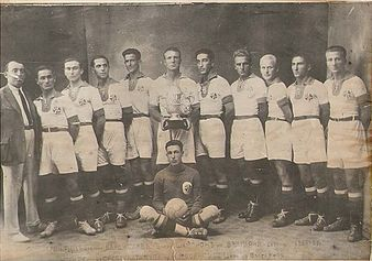 Чемпионская команда «Владислав» Варна 1925 года